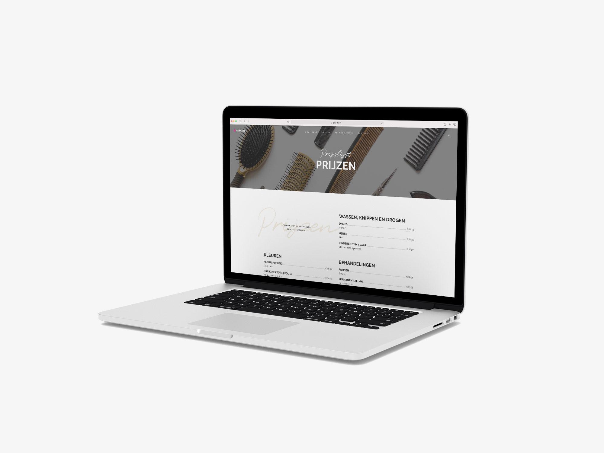 wordpress website kapper