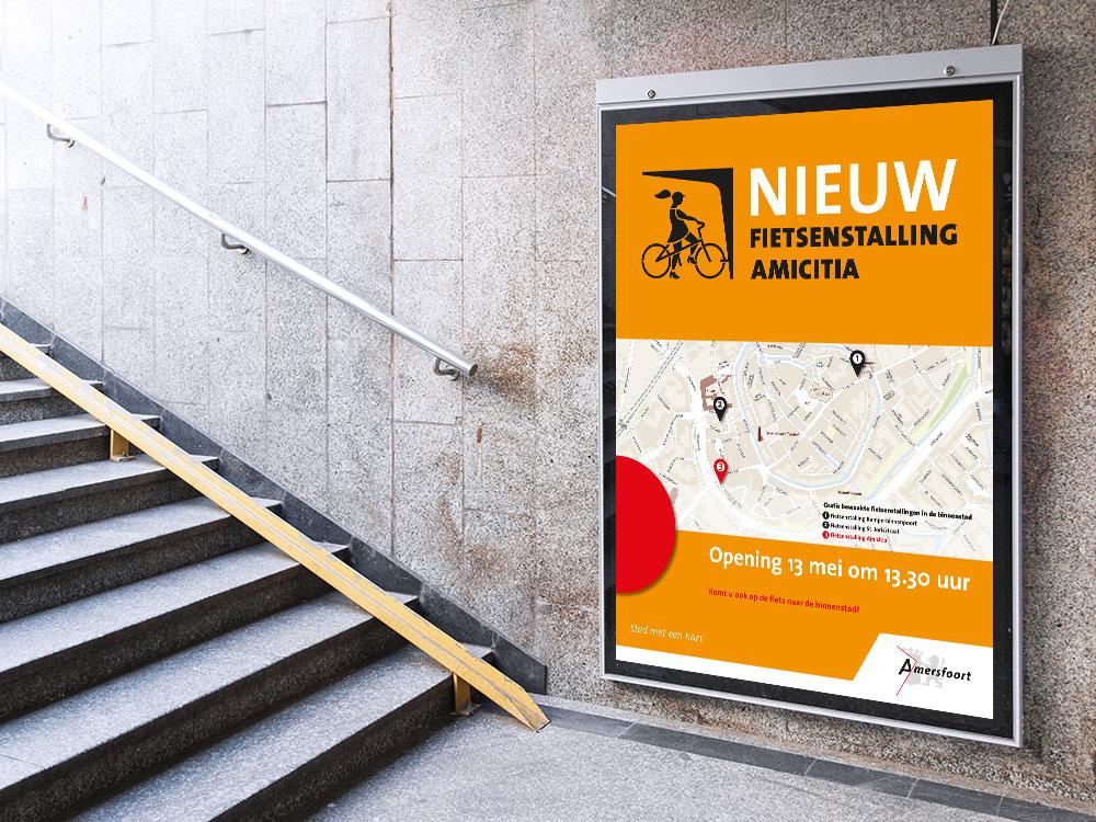 poster-fietsenstalling-Amersfoort