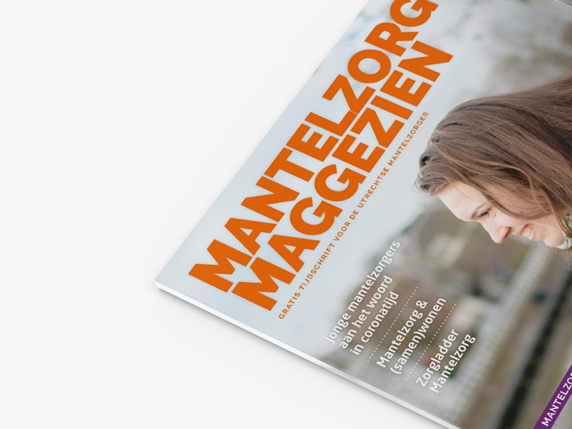 Magazine opmaak – Mantelzorg U-centraal
