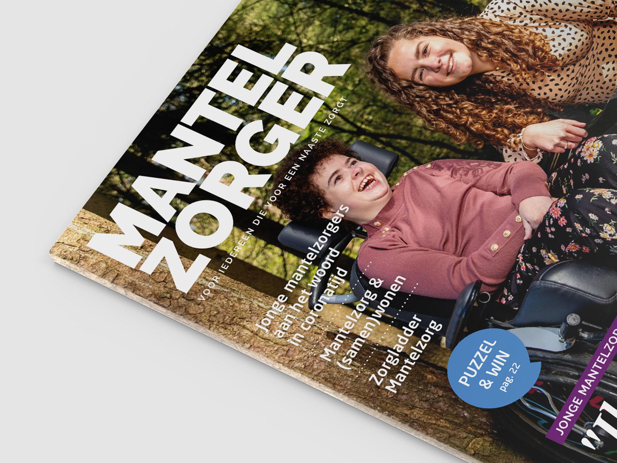 Magazine opmaak – Mantelzorger van MantelzorgNL