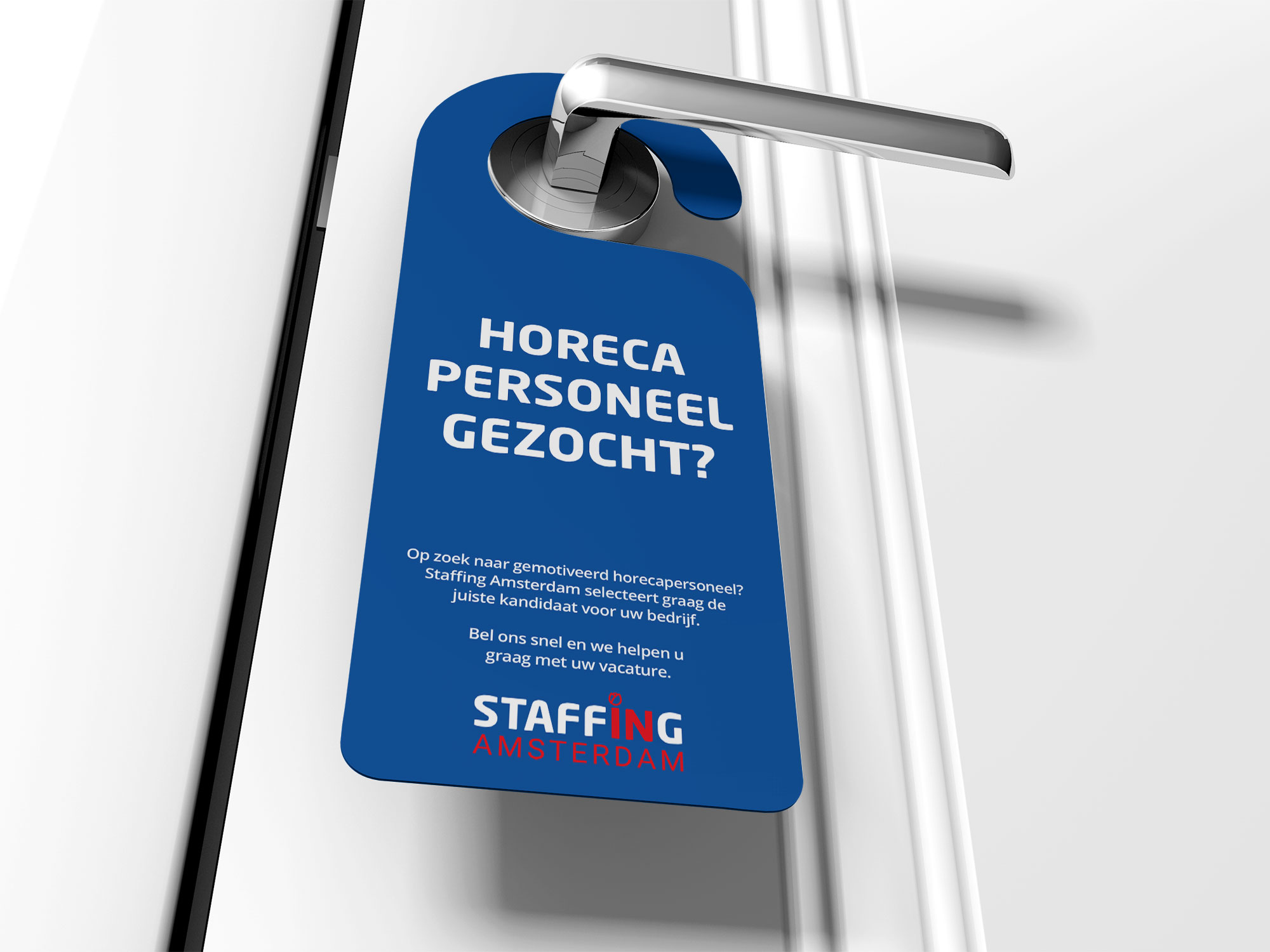 deurhanger Staffing Amsterdam