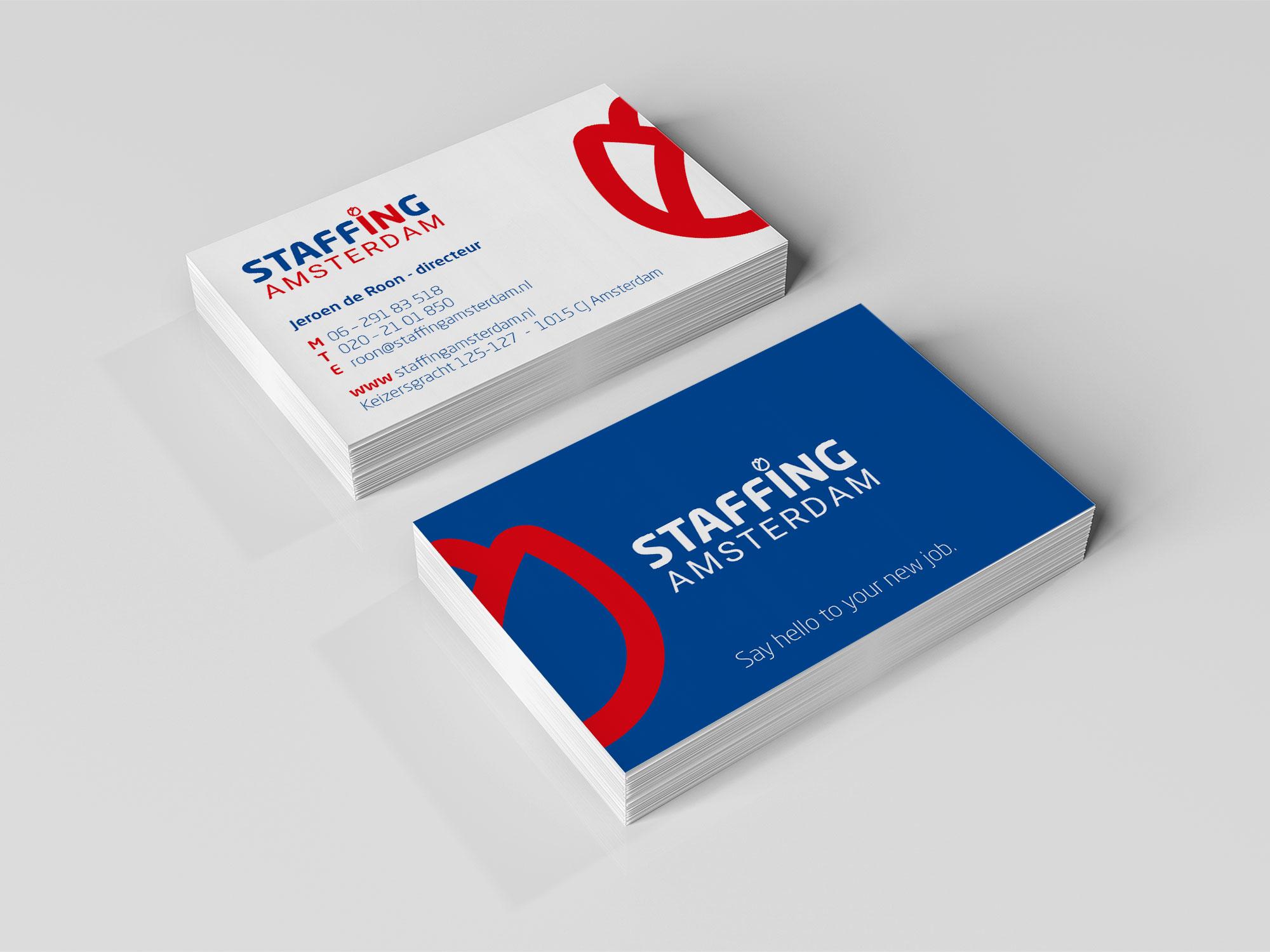 visitekaartjes Staffing Amsterdam