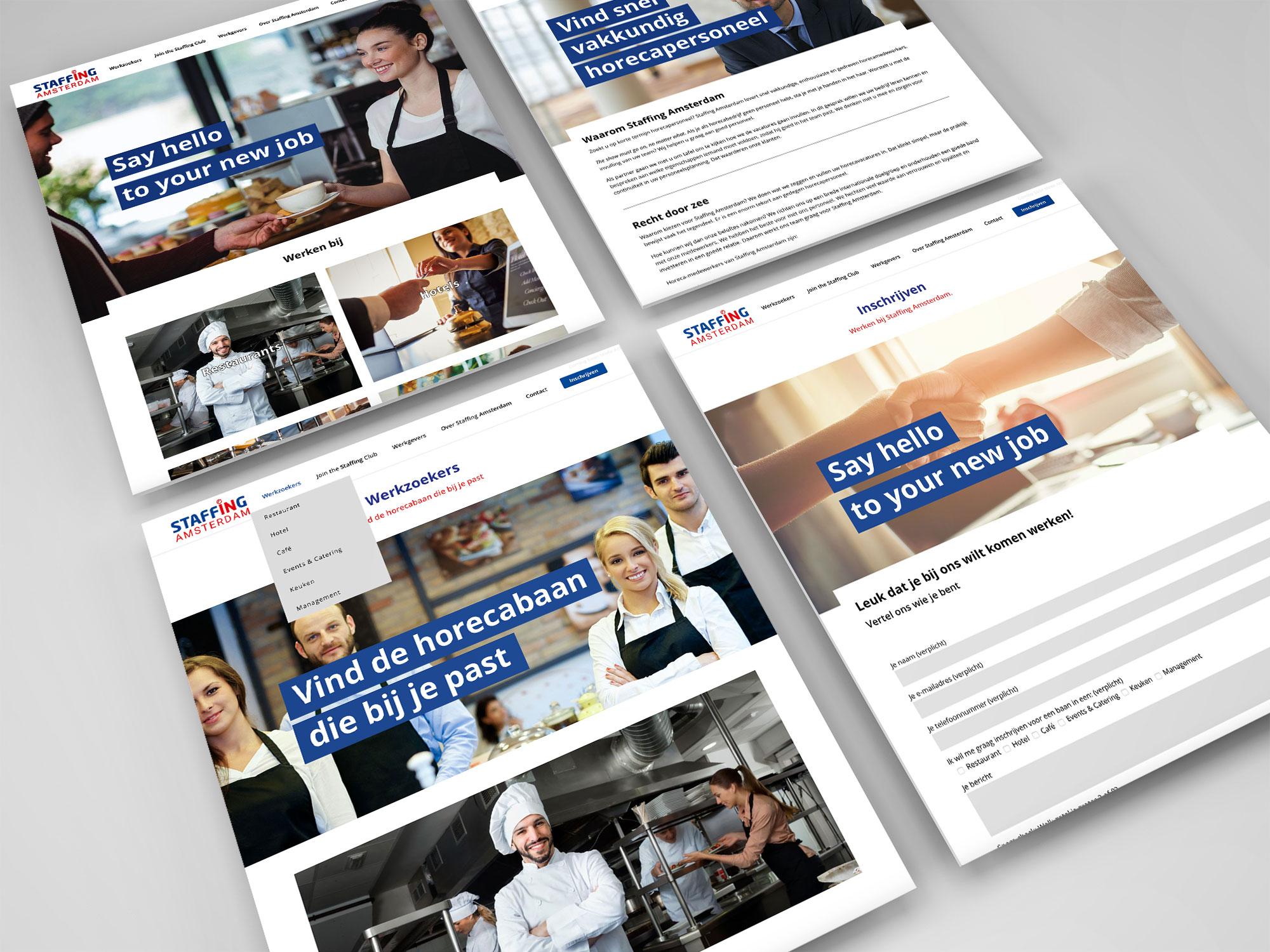 website staffing amsterdam